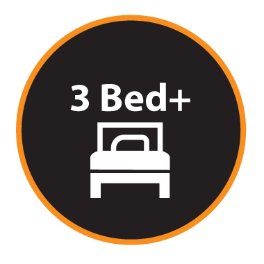 Three + Bed Properties